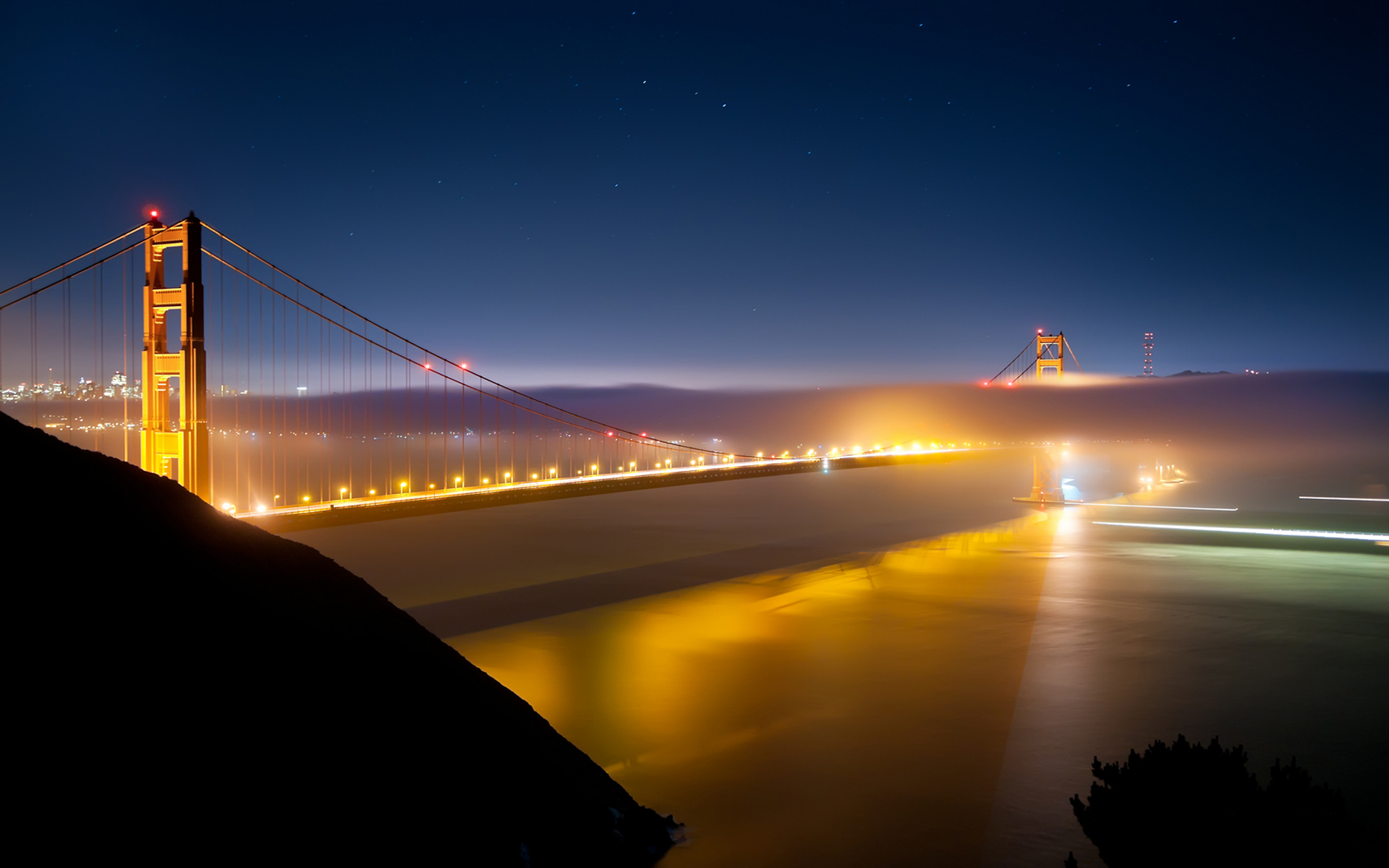 Golden Gate Bridge Fog Wallpapers High Quality Resolution