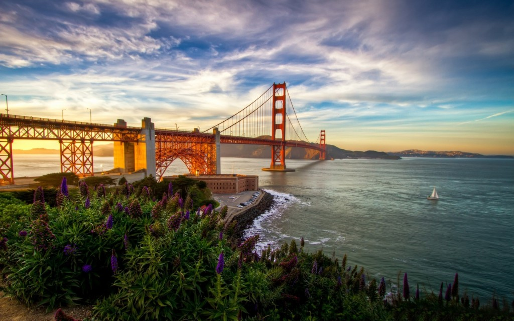 Golden Gate Bridge Widescreen Wallpaper 1920x1200
