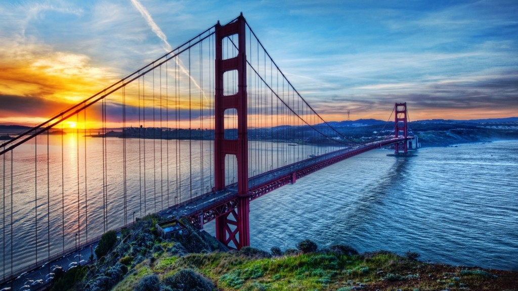 Golden Gate Bridge Full HD Wallpaper 1920x1080