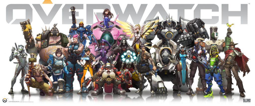 Overwatch Wallpaper 3686x1534