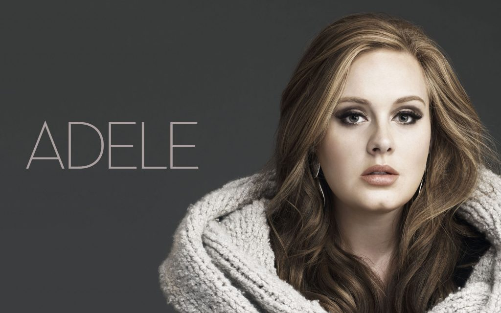 Adele Widescreen Wallpaper 2560x1600