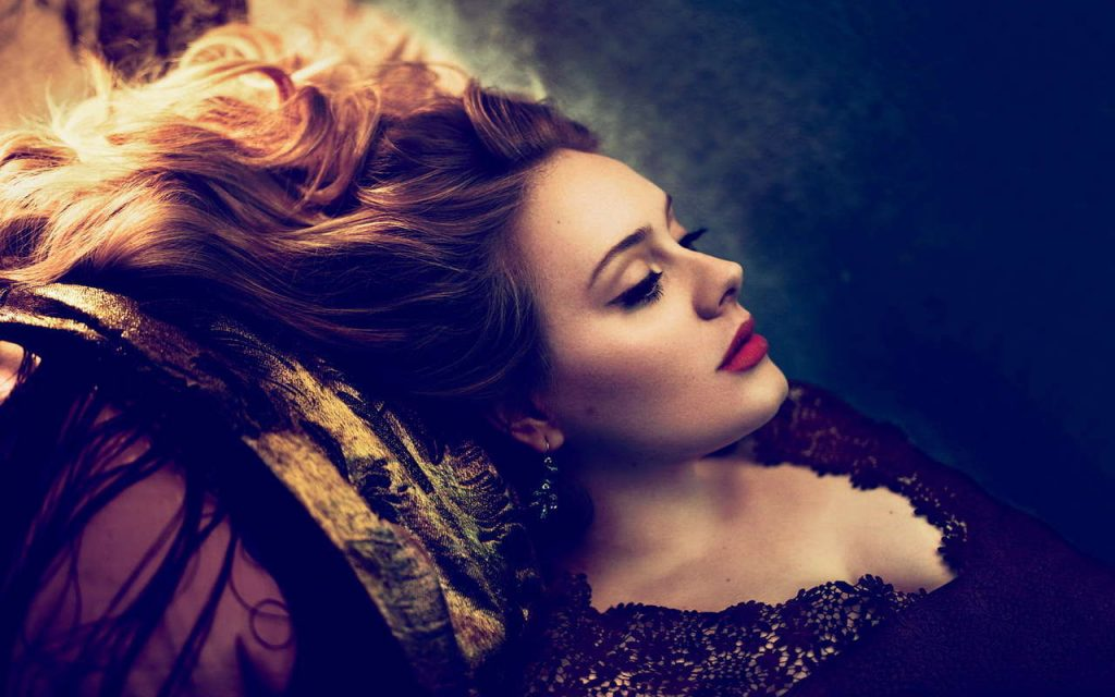 Adele Widescreen Wallpaper 1280x800