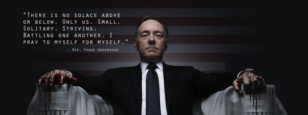 House of Cards Wallpaper 1600x600