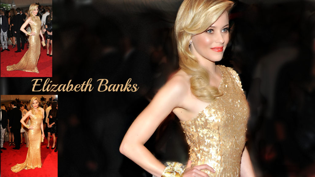 Elizabeth Banks Full HD Wallpaper 1920x1080