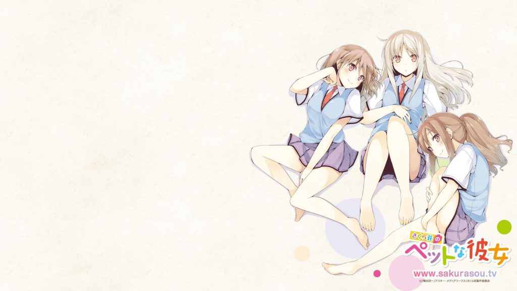 Sakurasou No Pet Na Kanojo Full HD Wallpaper 1920x1080