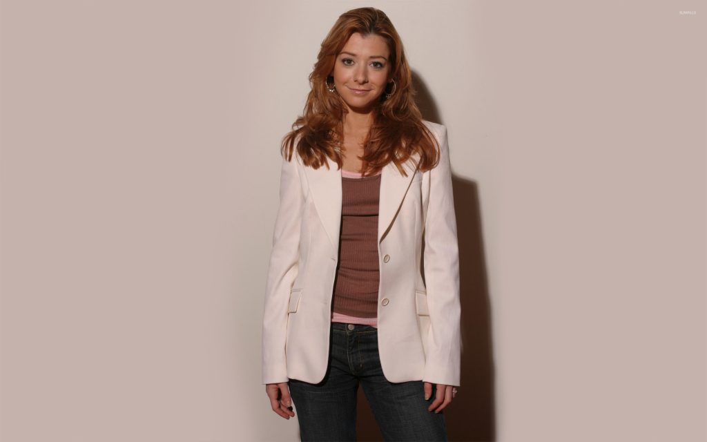 Alyson Hannigan Widescreen Wallpaper 2560x1600