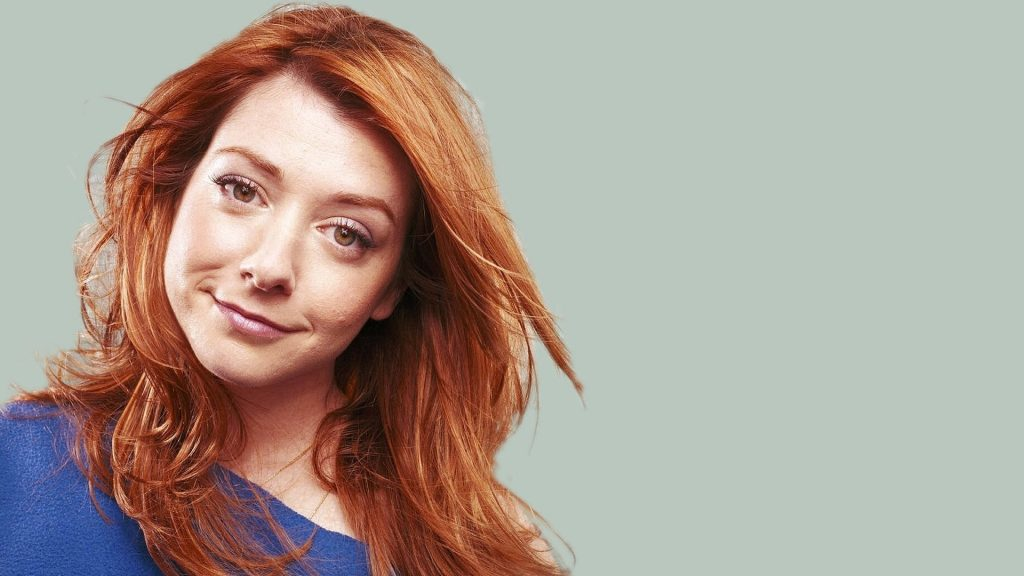 Alyson Hannigan Full HD Wallpaper 1920x1080