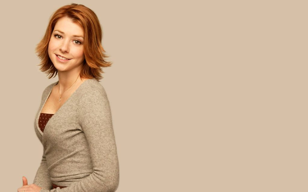 Alyson Hannigan Widescreen Wallpaper 1680x1050