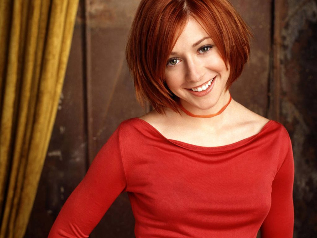 Alyson Hannigan Wallpaper 1600x1200