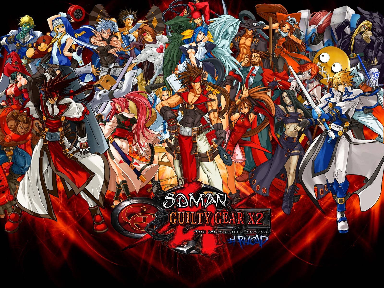 X2 Poster Guilty Gear Wallpapers...
