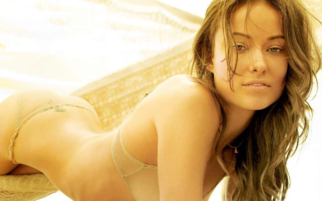 Olivia Wilde Widescreen Wallpaper 1280x800