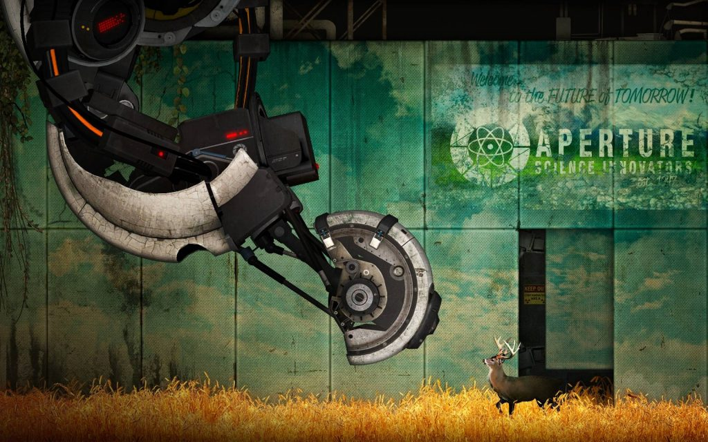 Portal 2 Widescreen Wallpaper 1920x1200