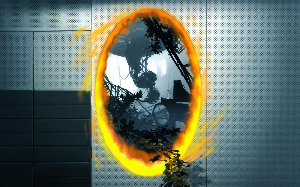 Portal 2 Widescreen Wallpaper 2560x1600