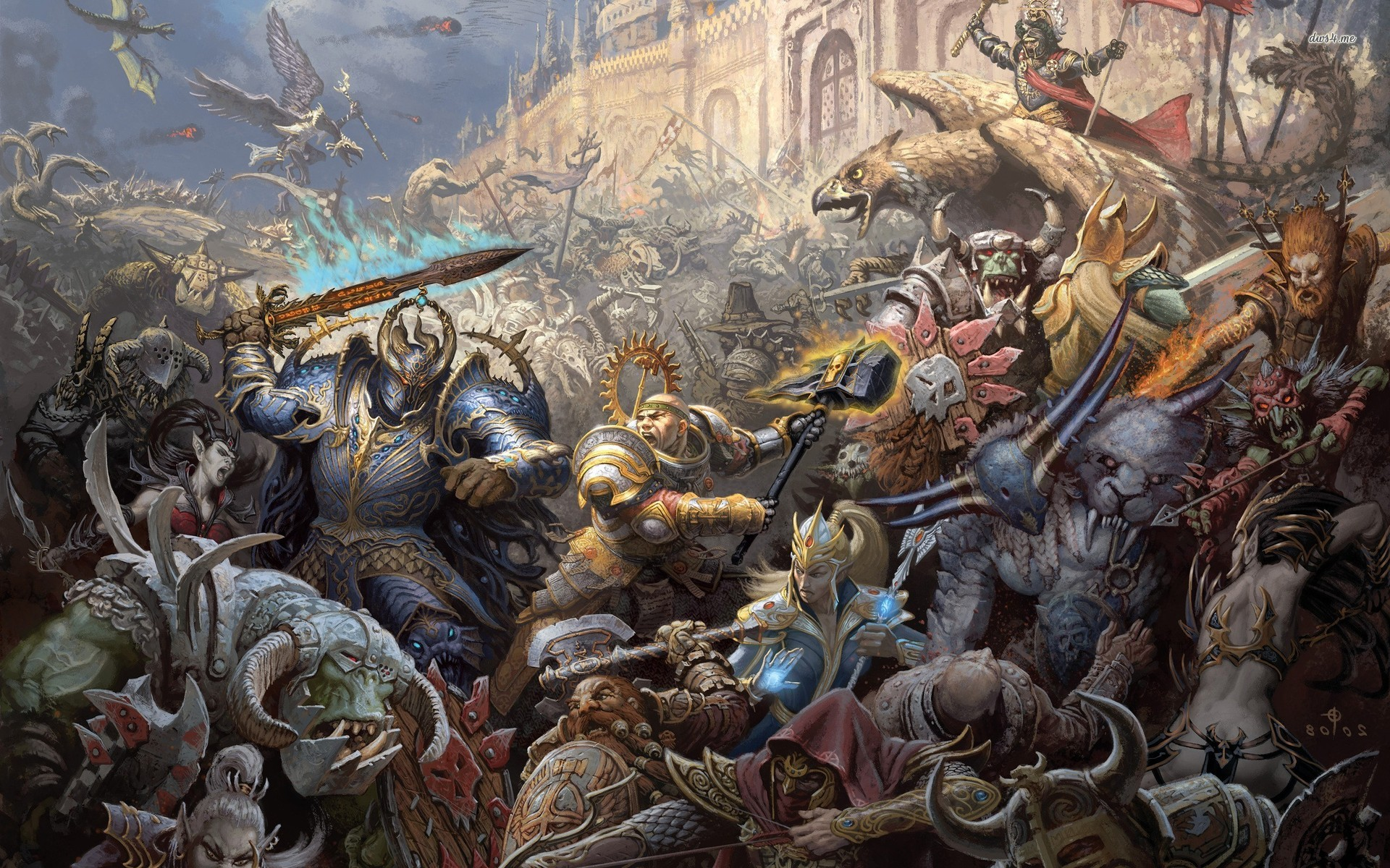 Warhammer online wallpapers pictures images - Fantasy game wallpaper ...