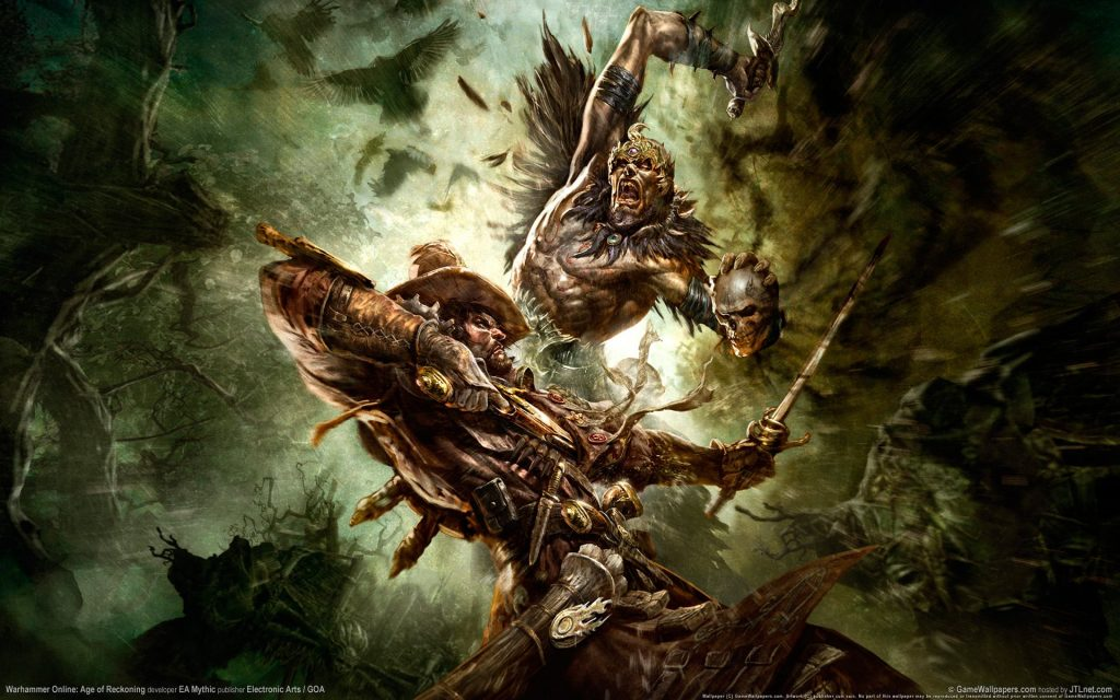 Warhammer Online Widescreen Wallpaper 1920x1200