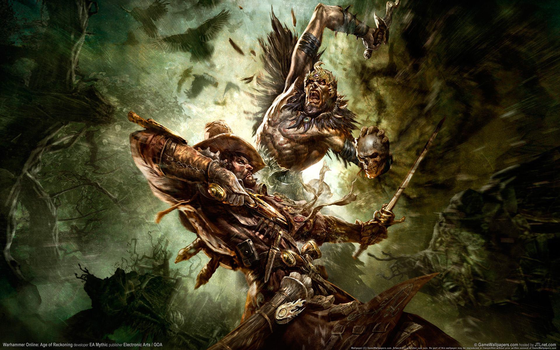 Warhammer Online Widescreen Wallpaper 1920x1200