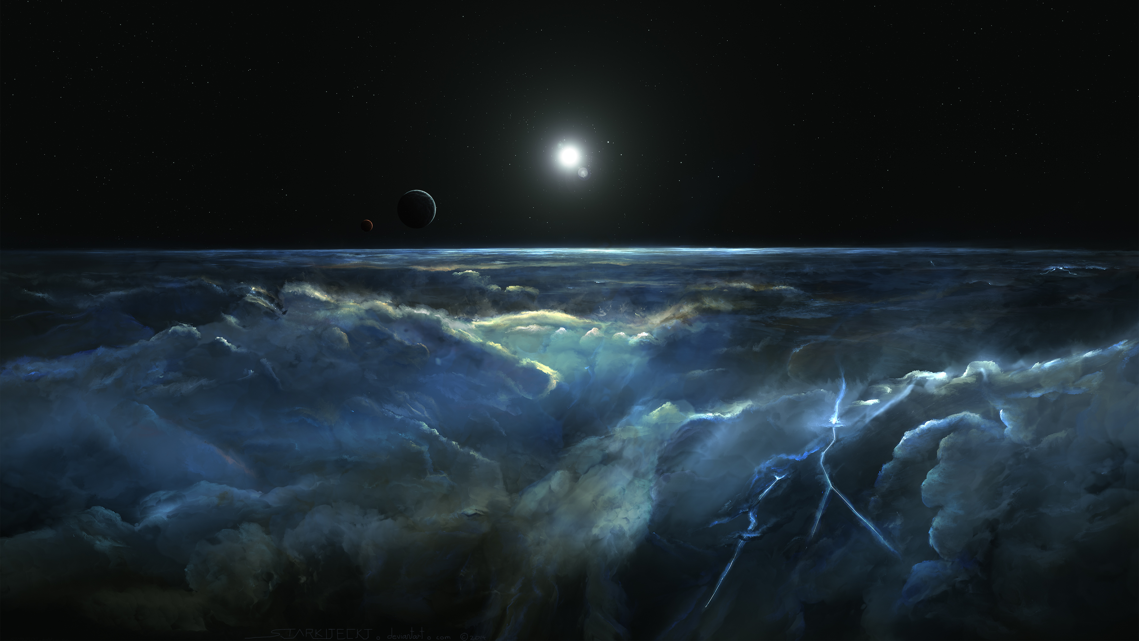 Planet wallpapers pictures images for Espacio exterior 4k