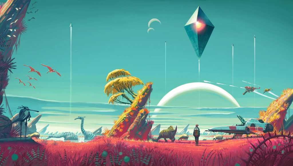 No Man's Sky Wallpaper 8250x4672