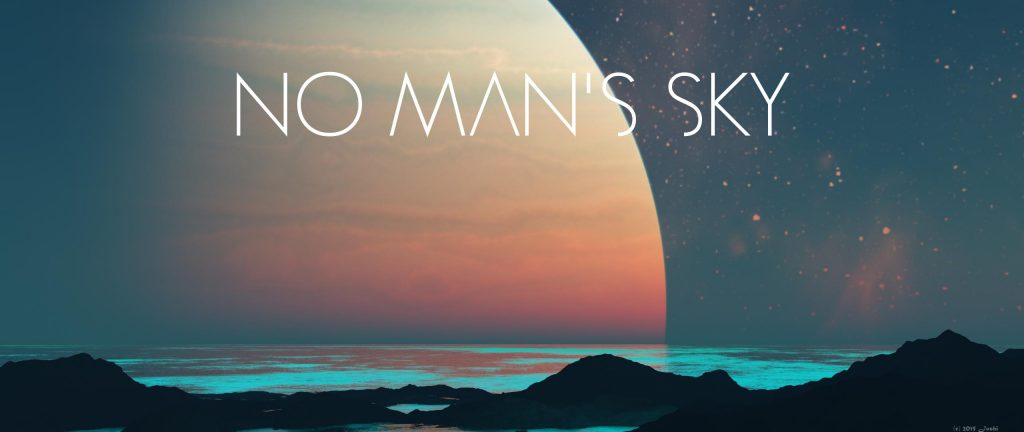 No Man's Sky Dual Monitor Wallpaper 2560x1080