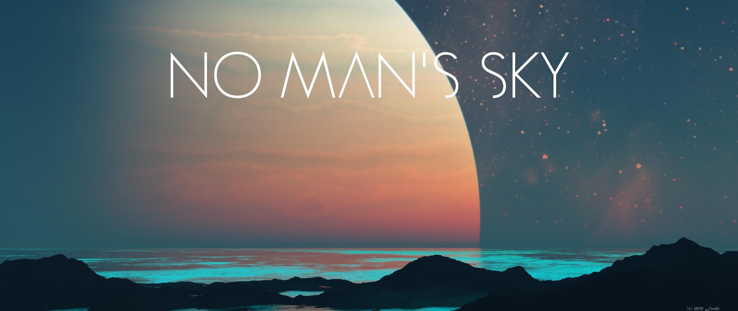 No Man S Sky 4k Wallpaper: No Man's Sky Dual Monitor Wallpaper 2560x1080