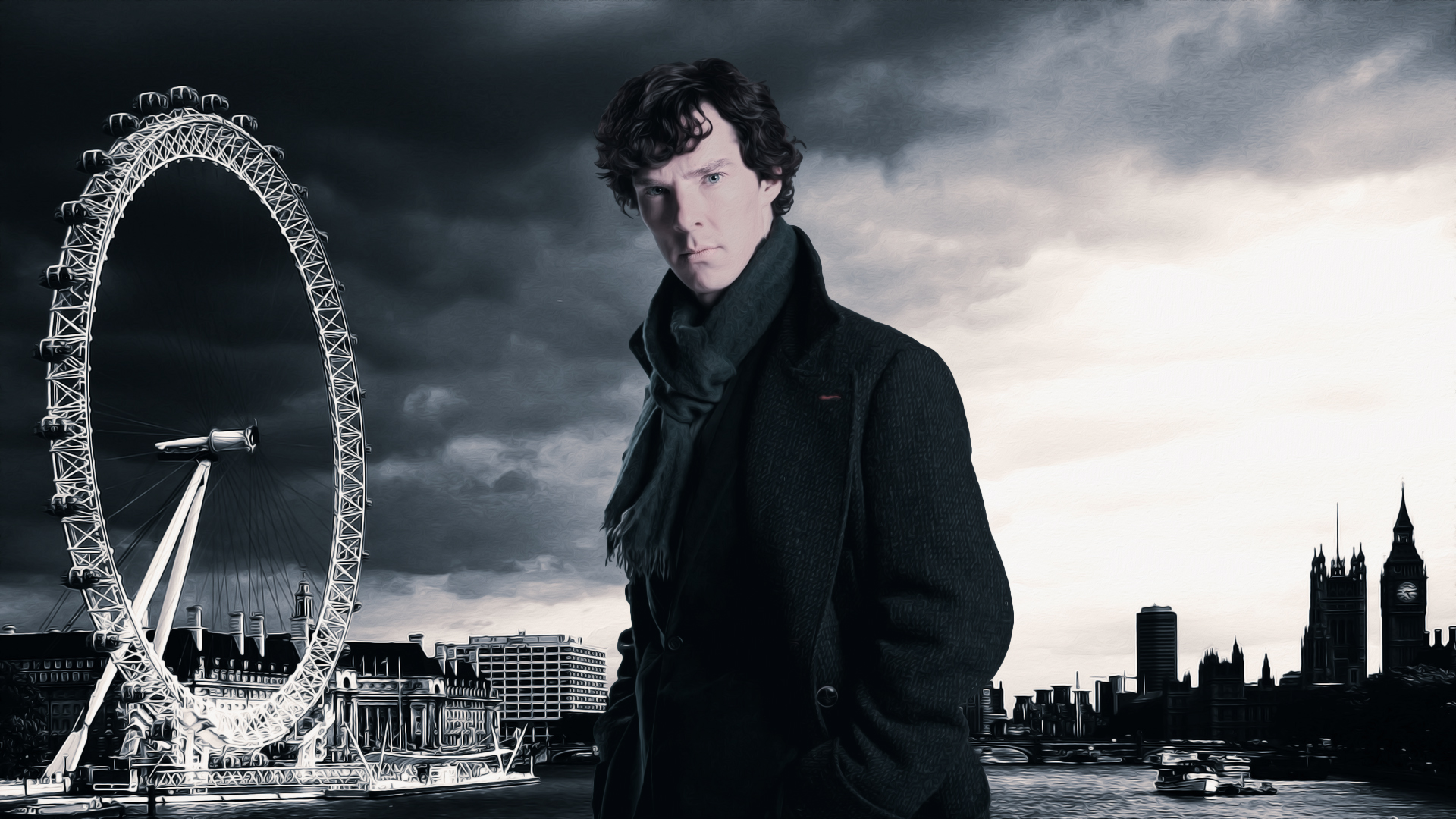 Benedict Cumberbatch Wallpaper Hd: Sherlock Wallpapers, Pictures, Images