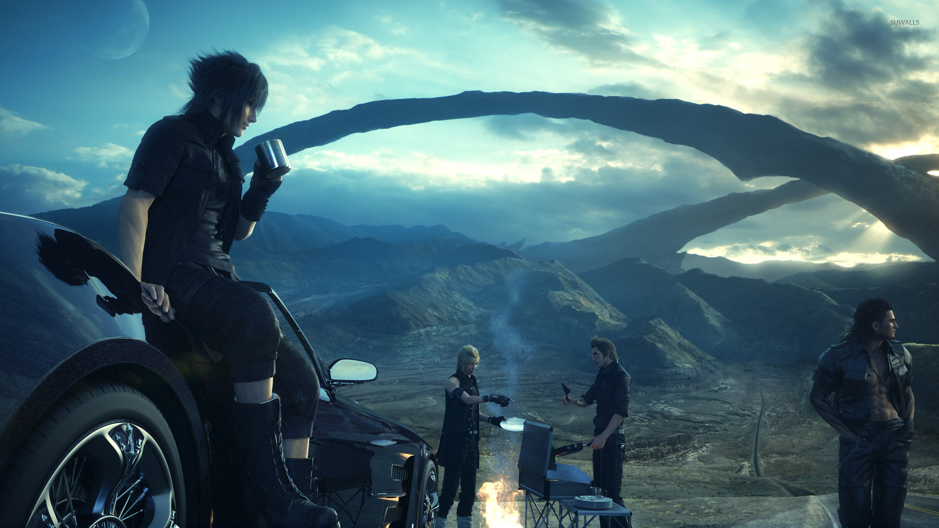 Final fantasy xv wallpapers pictures images - Final fantasy 9 wallpaper 1920x1080 ...