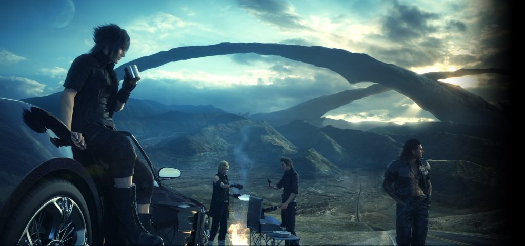 Final Fantasy XV Wallpaper 2900x1360