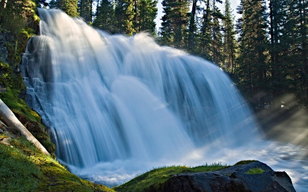 Waterfall Widescreen Wallpaper 1920x1200