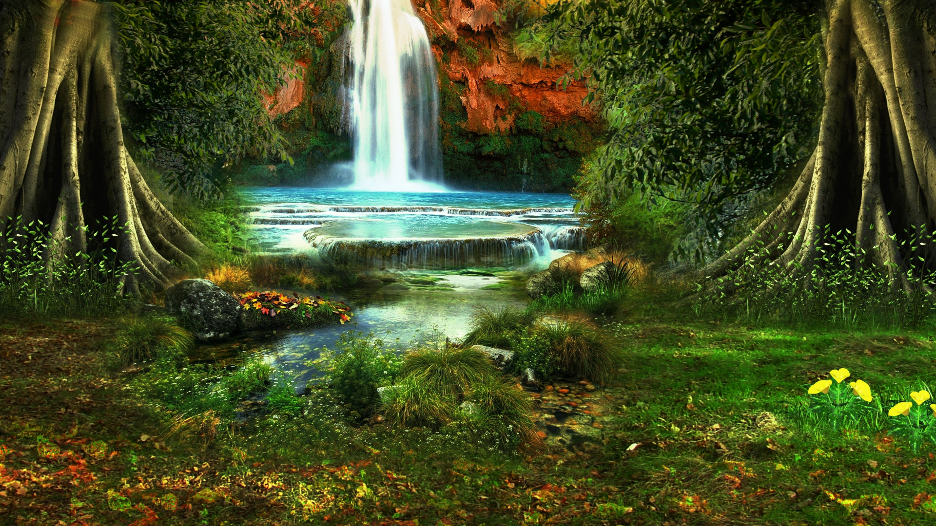 1920x1080 Hd Wallpapers Waterfall: Waterfall Wallpapers, Pictures, Images