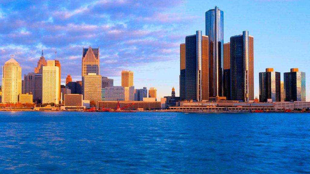 Detroit Full HD Wallpaper 1920x1080