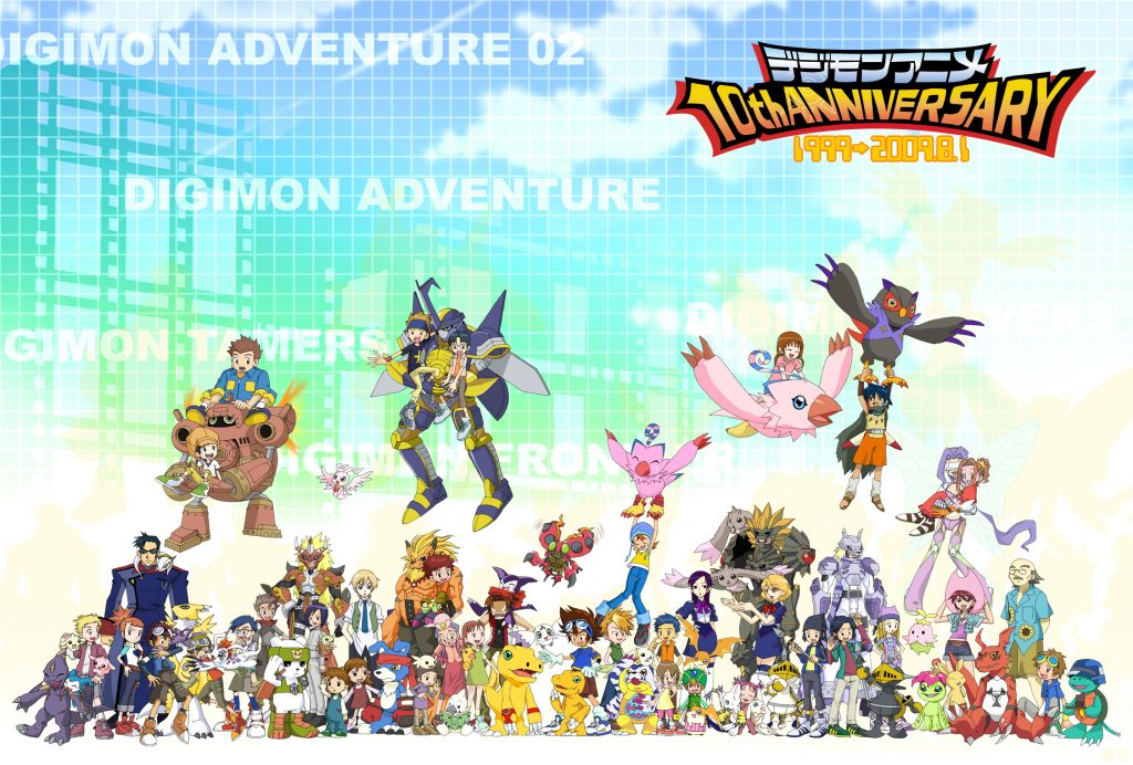 Digimon Wallpaper 2250x1520