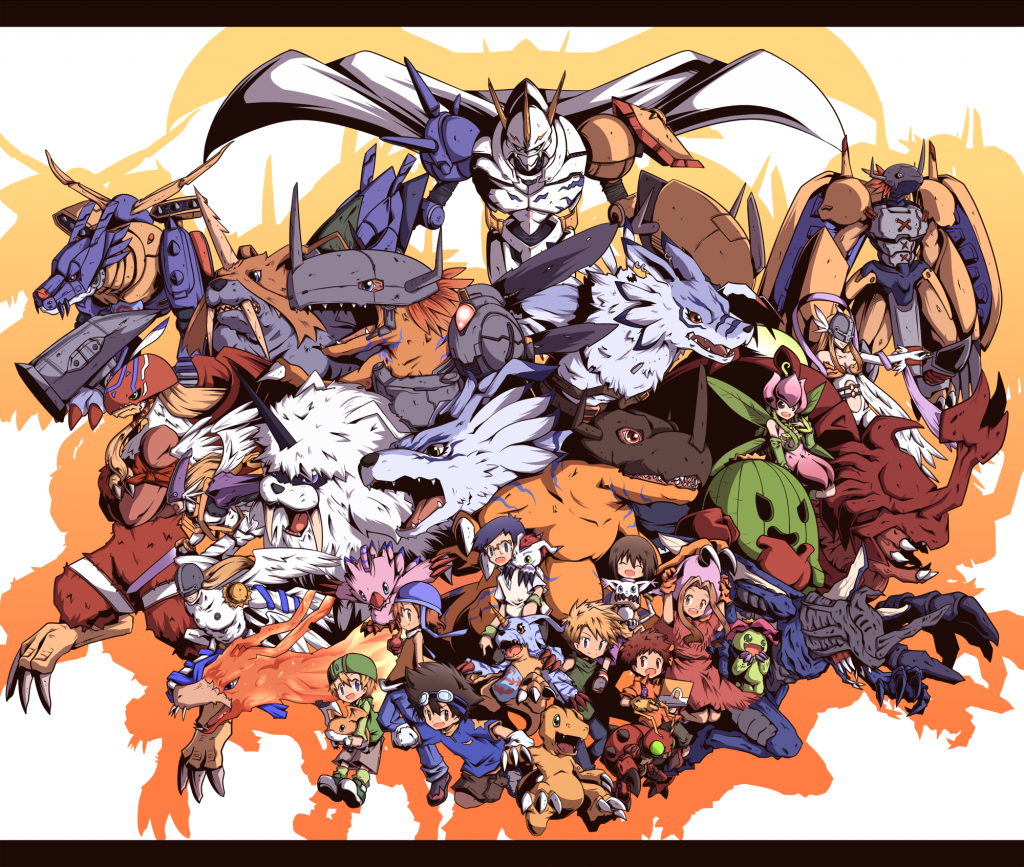 Digimon Wallpaper 2000x1694
