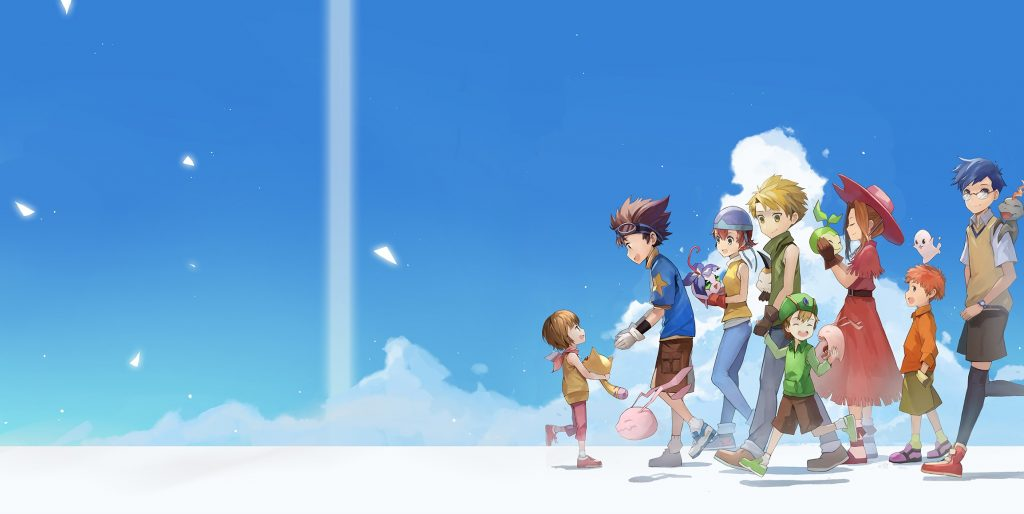 Digimon Wallpaper 2307x1159