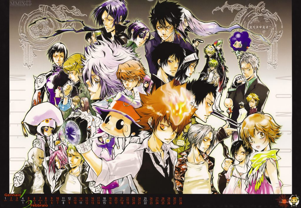 Hitman Reborn Wallpaper 3609x2491