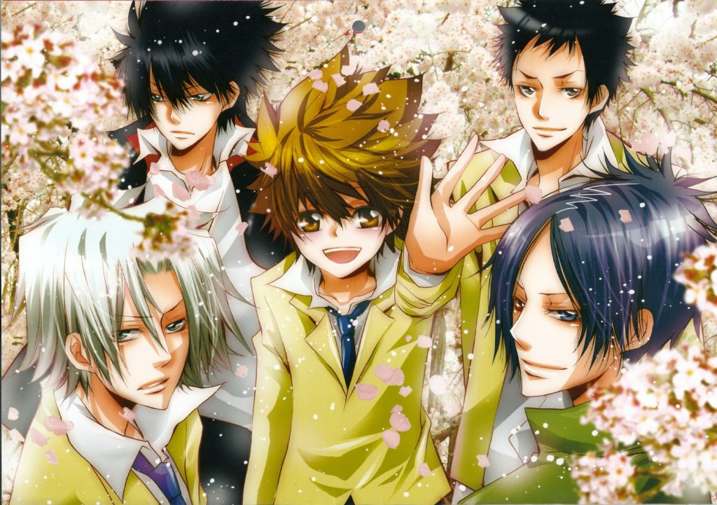 Hitman Reborn Wallpaper 2000x1408