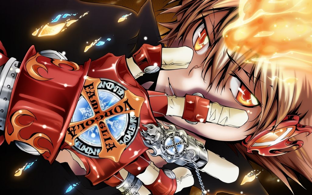Hitman Reborn Widescreen Wallpaper 1920x1200