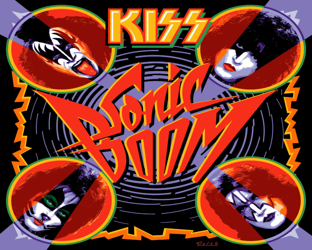 Kiss Wallpaper 3000x2400