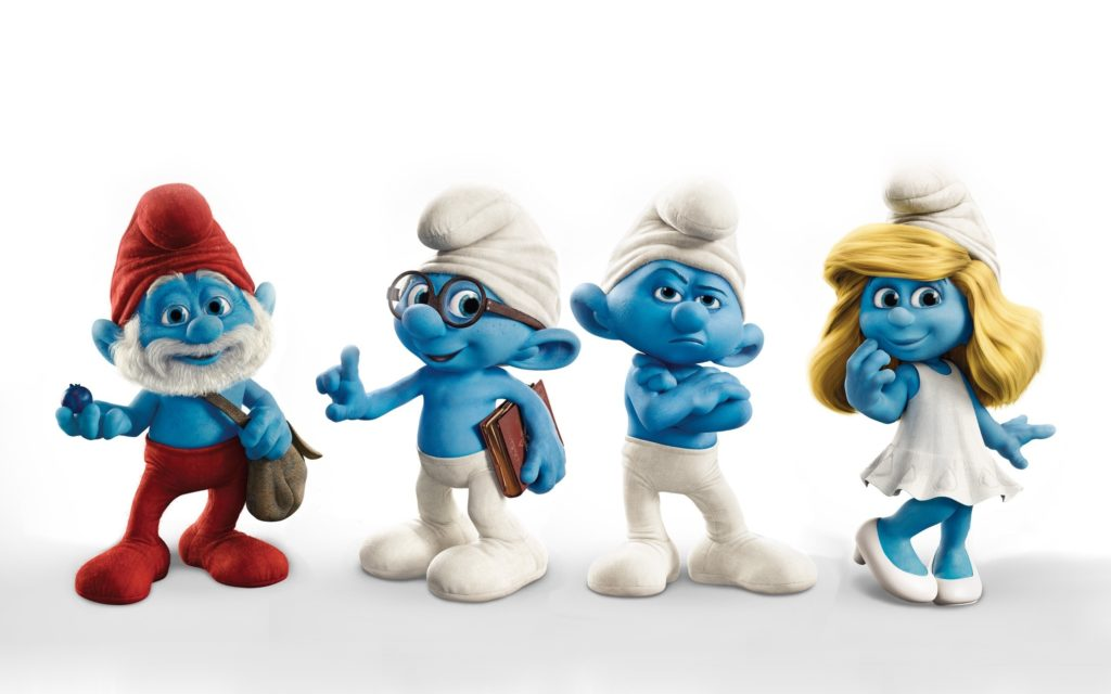 Smurfs Widescreen Wallpaper 2560x1600