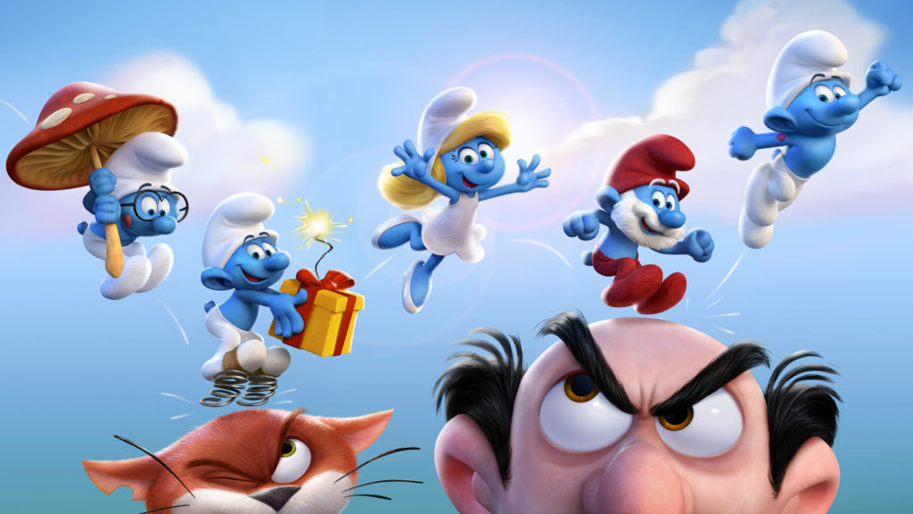 Smurfs 4K UHD Wallpaper 3840x2160