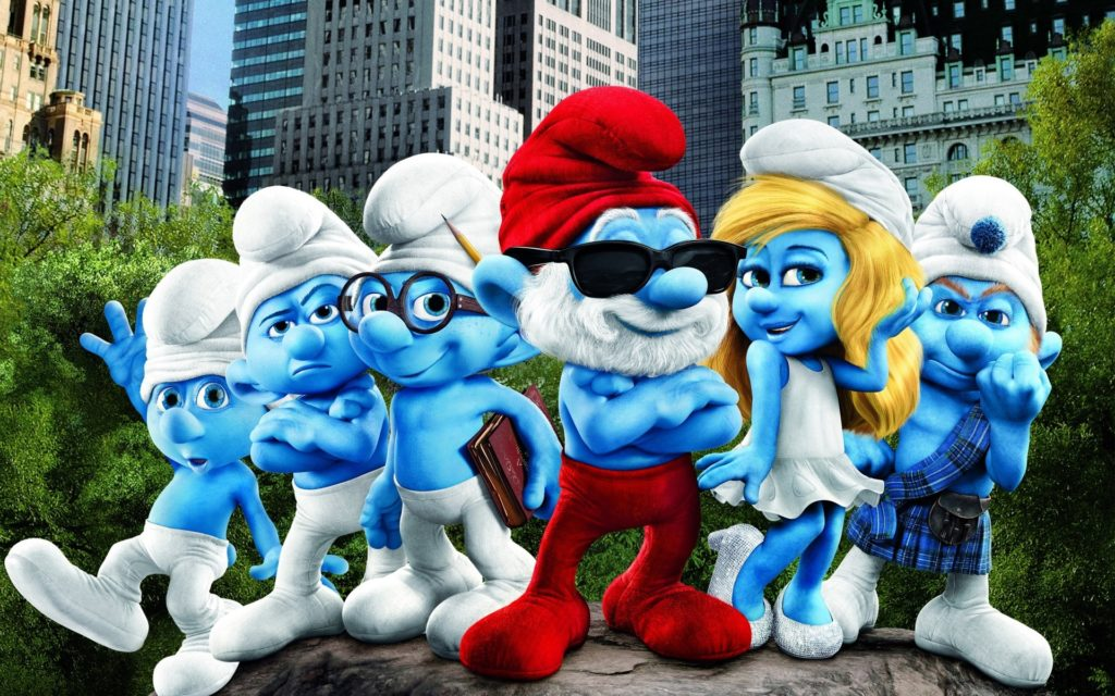 Smurfs Widescreen Wallpaper 1920x1200