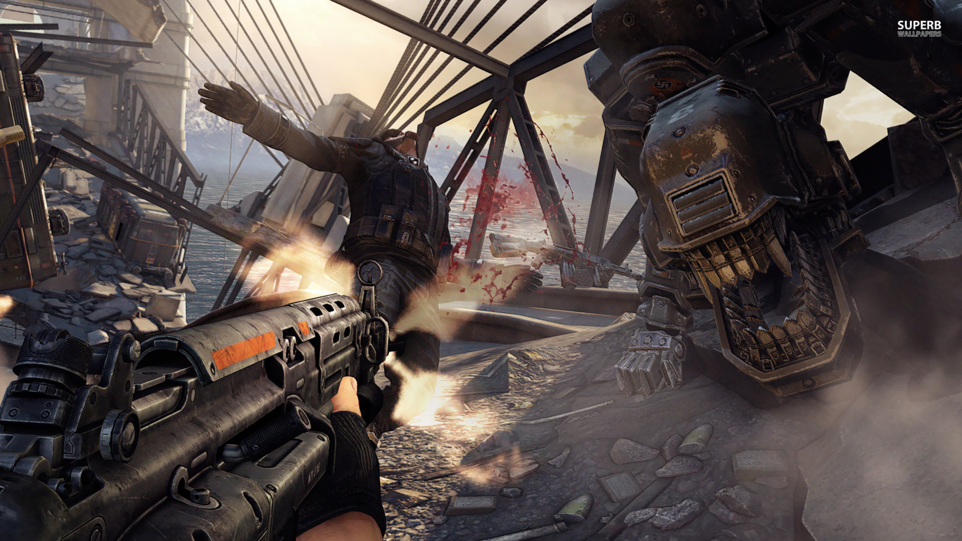 Wolfenstein the new order wallpapers pictures images for The latest wallpaper