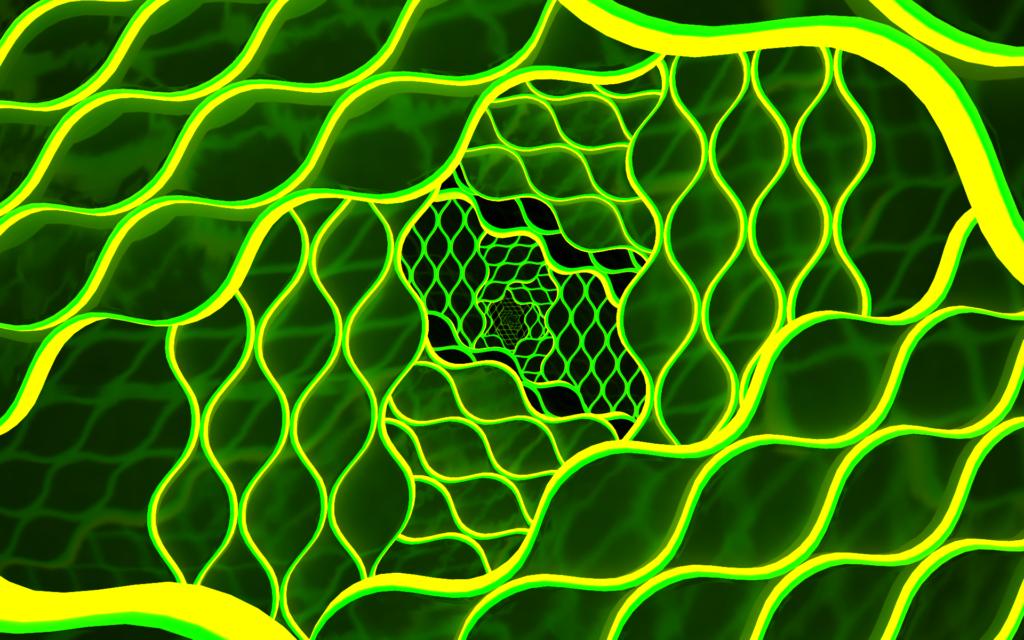 3D Widescreen Background