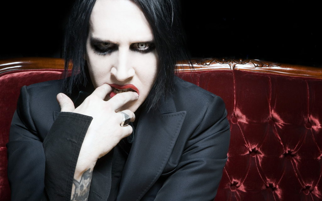 Marilyn Manson Widescreen Wallpaper 2560x1600