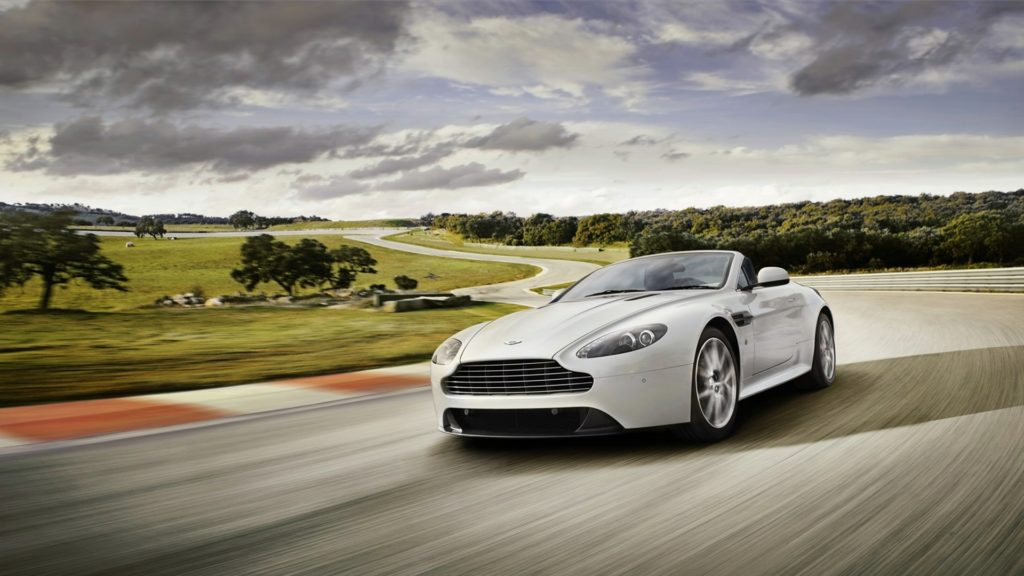 Aston Martin V8 Vantage Full HD Wallpaper