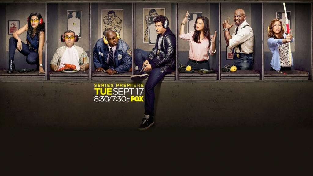 Brooklyn Nine-Nine Dual Monitor Wallpaper