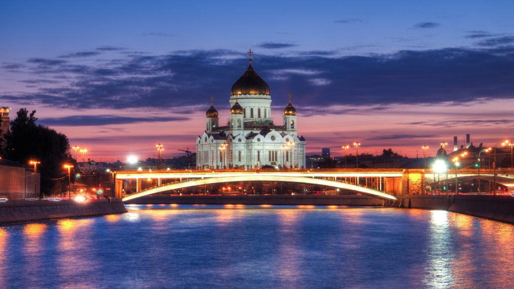 Cathedral Of Christ The Saviour 4K UHD Wallpaper