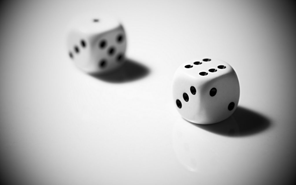 Dice Widescreen Wallpaper