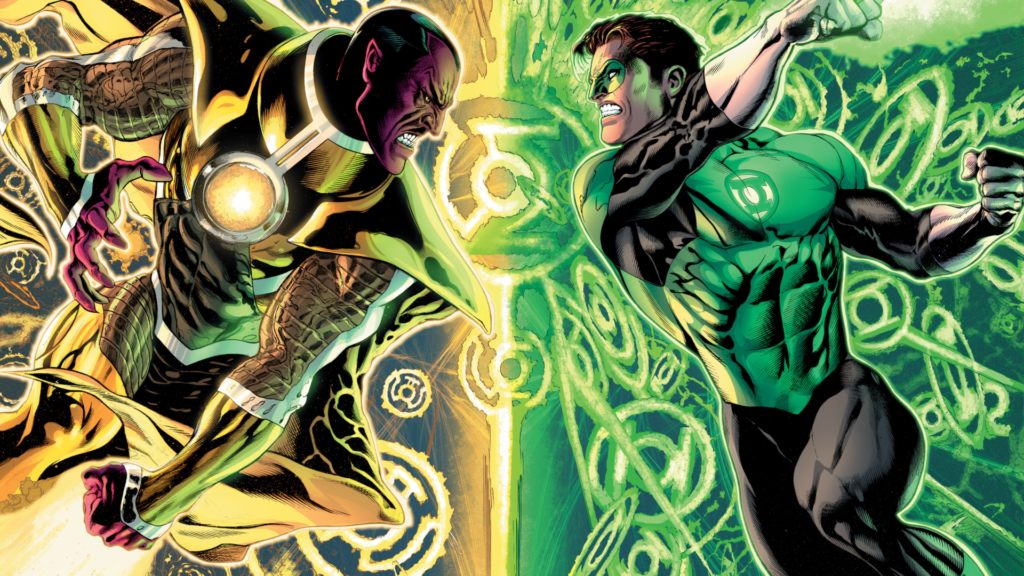 Green Lantern Backgrounds 1920x1080