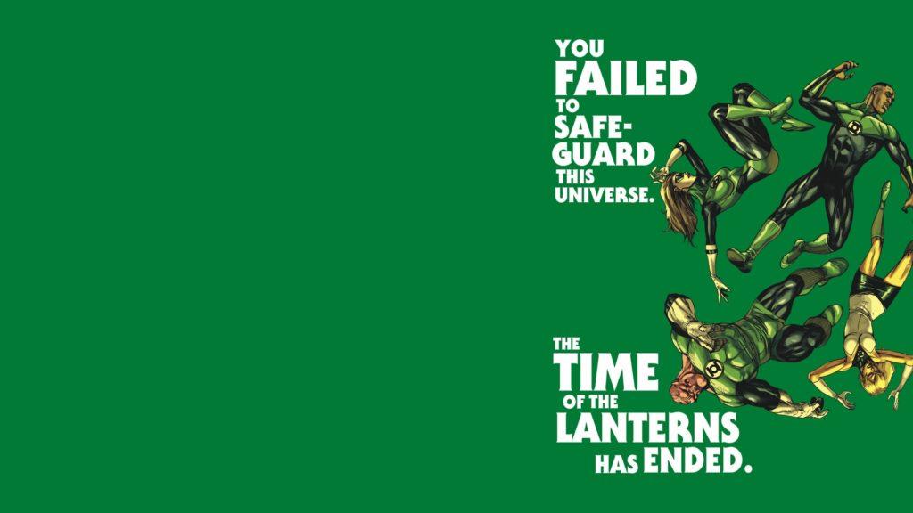 Green Lantern Backgrounds 1920x1080