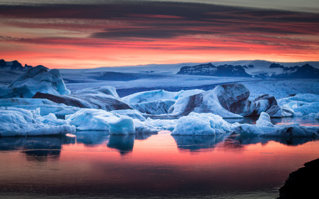 Iceberg Widescreen Wallpaper